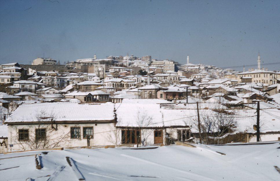 Ankara im Winter, E. Eckstein