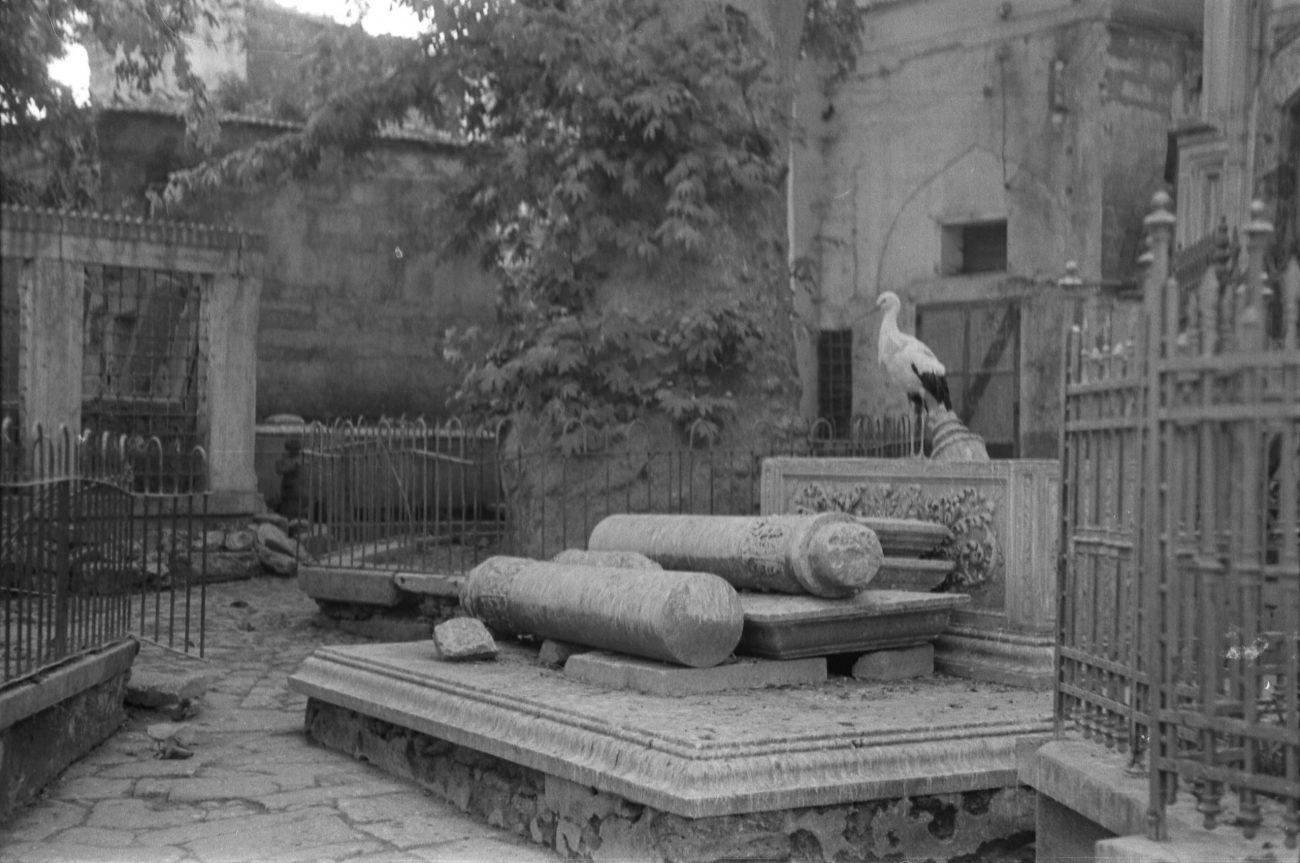 A. Eckstein, Eyüp Sultan Camii Arkası, 1937