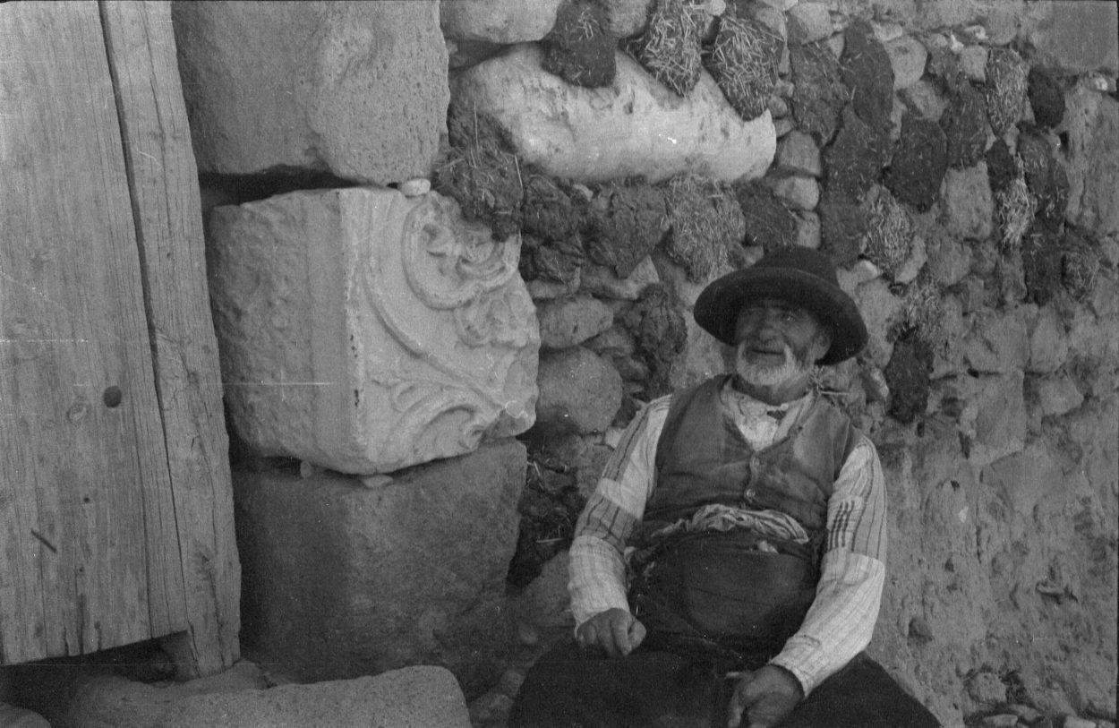 A. Eckstein, Yaşlı Bir Adam, Afyon, 1937
