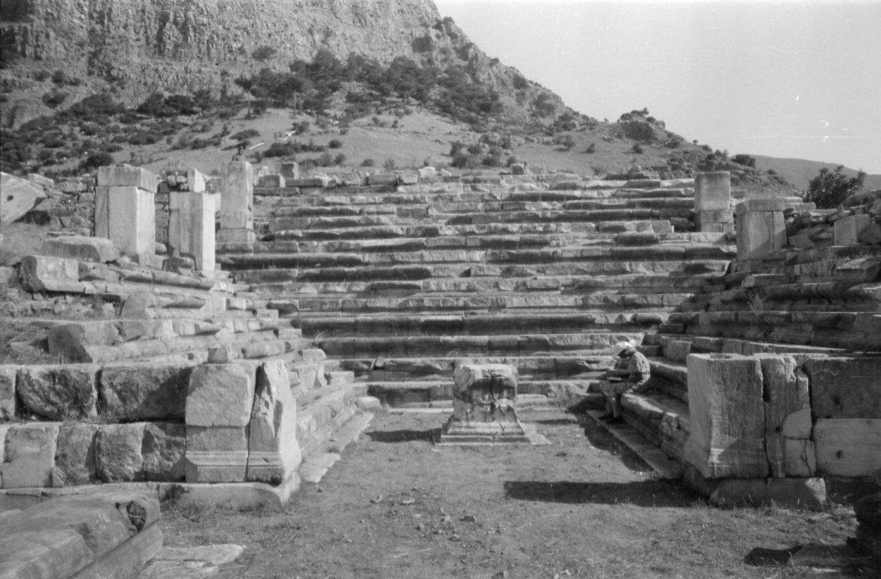 A. Eckstein Bouleuterion, Priene, 1938