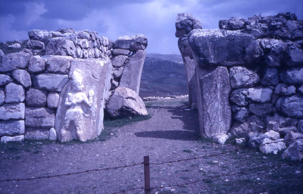 E. Eckstein, Boǧazköy Kral Kapısı, Çorum, 1986