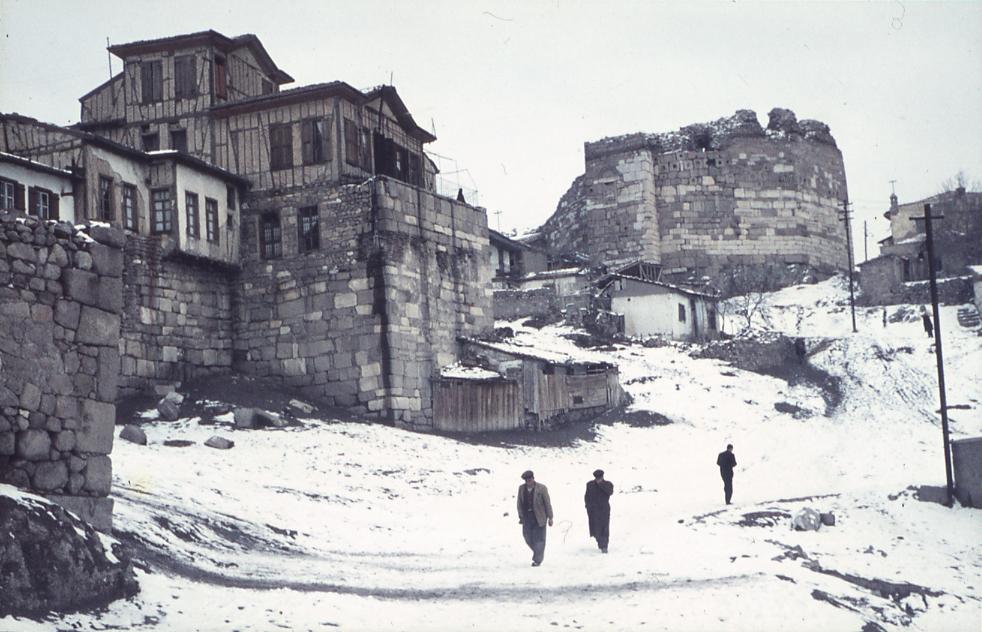 Stadt im Schnee Zitadelle, E. Eckstein