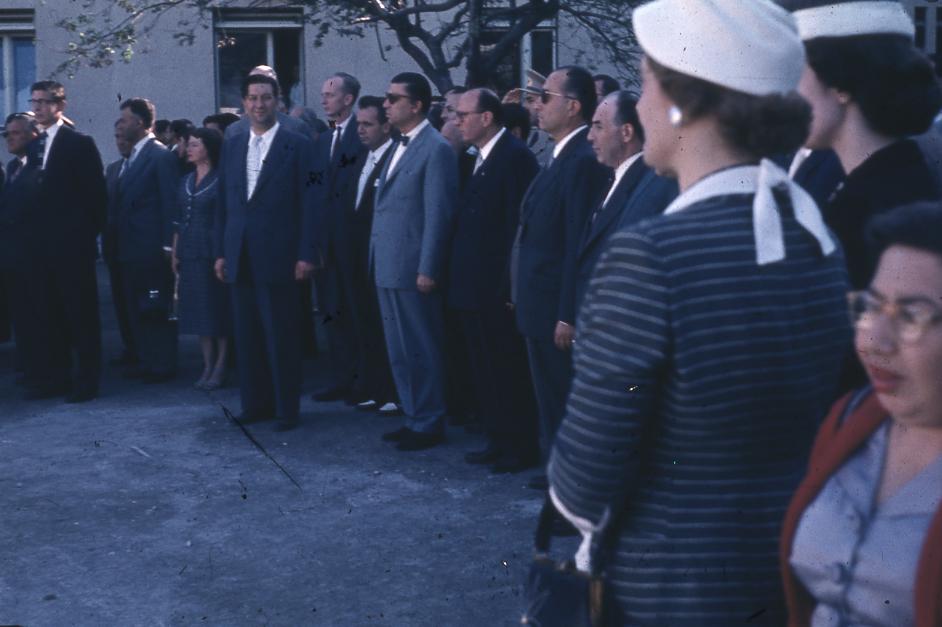 E. Eckstein, Hastane Açılış Konuşması, 8 Haziran 1958