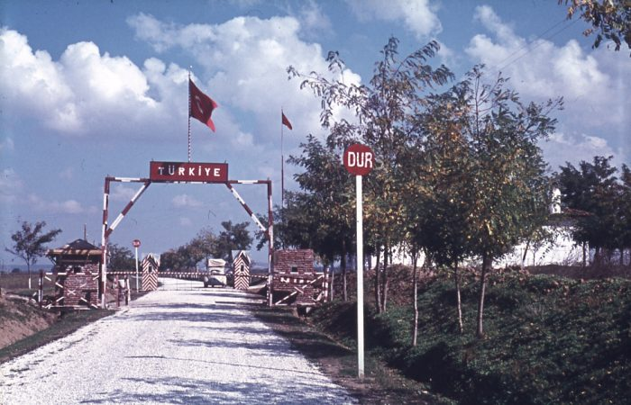 Eckstein, Sınır