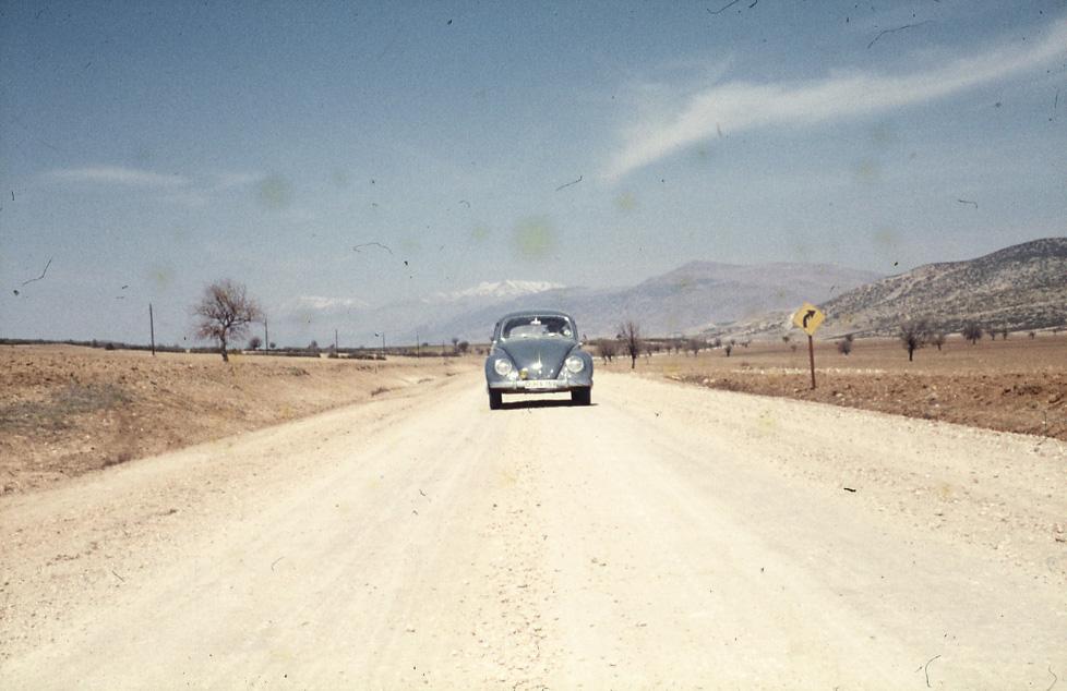 E. Eckstein, Cadde Görüntüsü, Afyon, 1959