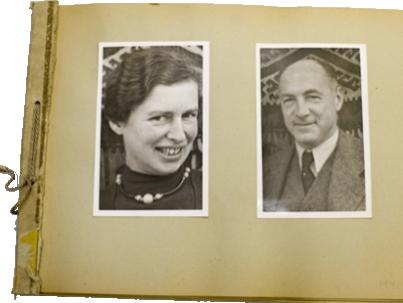Erna Eckstein and Albert Eckstein