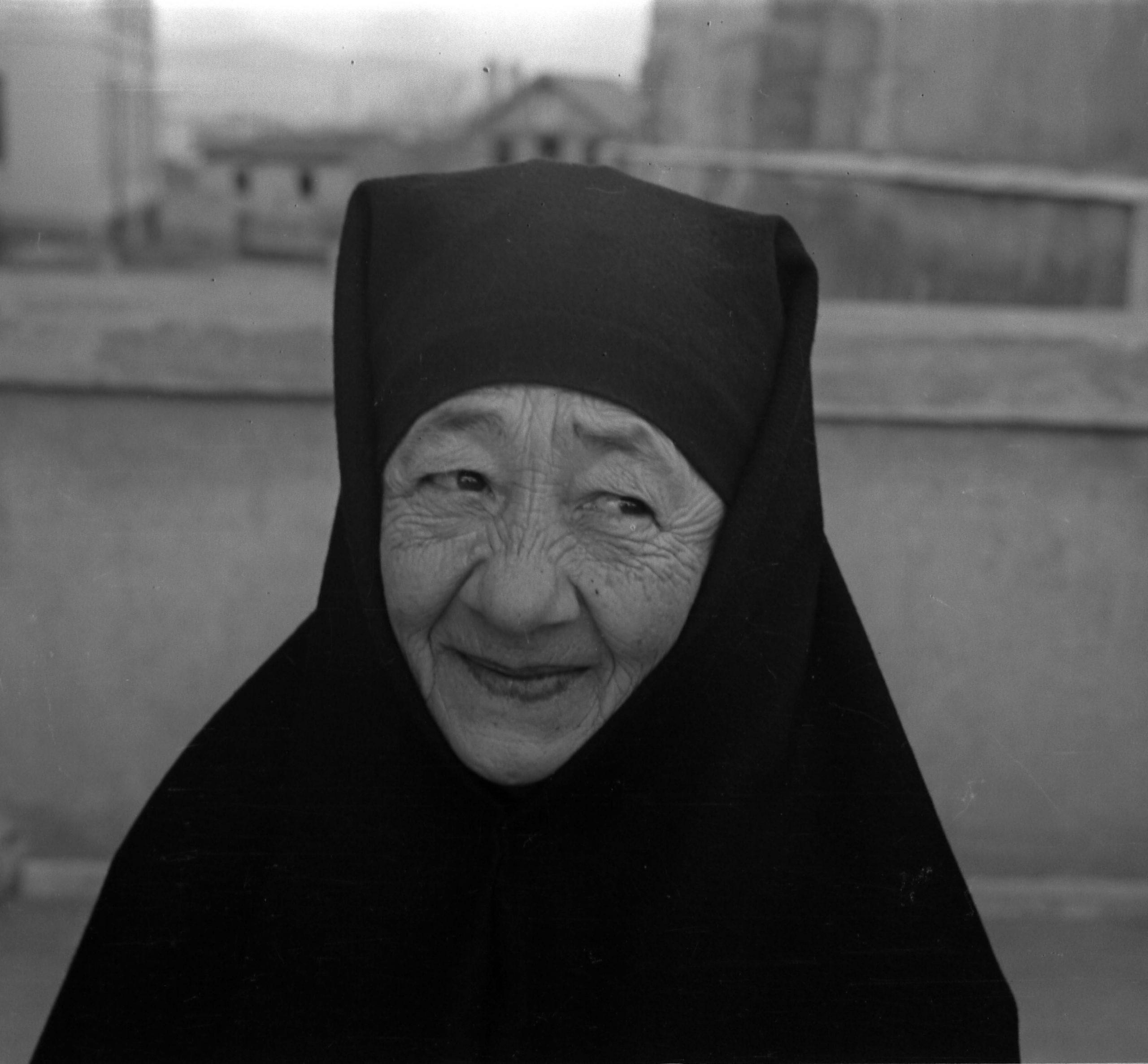 A. Eckstein, Hastanede Yaşlı Bir Kadın, Ankara