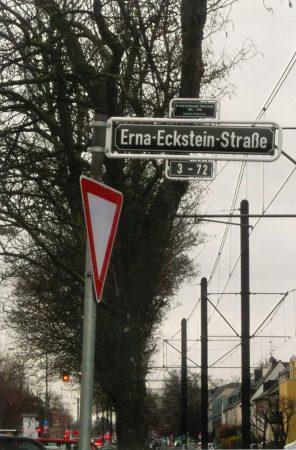 A. Olivier, Erna Eckstein Caddesi, Düsseldorf